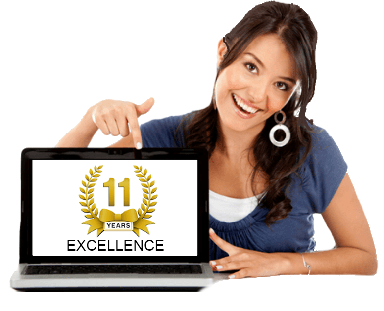 10 Years Excellence of Sri Sai Solutions in Website Designign and Development